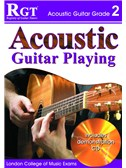 Registry of Guitar Tutors: Acoustic Guitar Playing - Grade 2 (Book/CD)