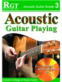 Registry of Guitar Tutors: Acoustic Guitar Playing - Grade 3 (Book and CD)
