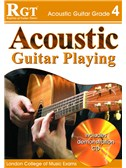 Registry of Guitar Tutors: Acoustic Guitar Playing - Grade 4 (Book and CD)