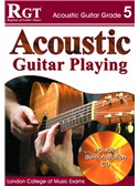 Registry of Guitar Tutors: Acoustic Guitar Playing - Grade 5 (Book and CD)