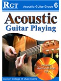Registry of Guitar Tutors: Acoustic Guitar Playing - Grade 6 (Book and CD)