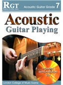 Registry of Guitar Tutors: Acoustic Guitar Playing - Grade 7 (Book and CD)