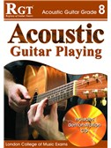 Registry of Guitar Tutors: Acoustic Guitar Playing - Grade 8 (Book and CD)