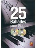 Frederic Dautigny: 25 Ballades Pour Piano (Book/CD/DVD)
