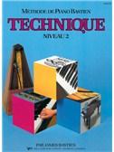 Méthode de Piano Bastien : Technique, Niveau 2