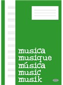 Quaderno di Musica (Block, Cahier de Musique)