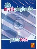Music Playbacks CD : Piano Rock