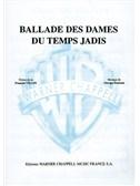 Georges Brassens: Ballade des Dames du Temps Jadis