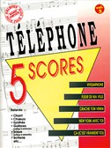 T�l�phone: 5 Scores - Volume 2. Band Score Sheet Music