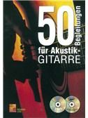 50 Begleitungen Für Akustik-Gitarre (Book/CD/DVD)