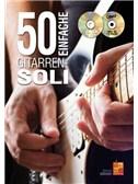 Gernot Dreher: 50 Einfache Gitarren-Soli (Buch/CD/DVD)