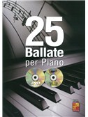25 Ballate Per Piano (Book/CD/DVD)
