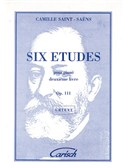 Camille Saint-Saens: 6 Etudes pour Piano, 2me Livre - Op.111. Sheet Music