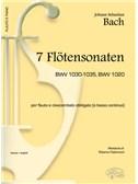Johann Sebastian Bach: 7 Flötensonaten Bwv 1030-1035, Bwv 1020, per Flauto e Clavicembalo Obbligato (o Basso Continuo)