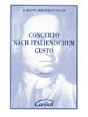 J.S. Bach: Concerto Nach Italianischem Gusto, for Cembalo