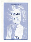 Arcangelo Corelli: Sonate Op.V Volume II, for Violin and Continuo. Sheet Music