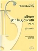 Pyotr Ilyich Tchaikovsky: Album per la Giovent�, Op.39 Per Chitarra. Guitar Sheet Music