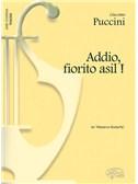 Giacomo Puccini: Addio, fiorito asil!, da Madama Butterfly (Tenore)