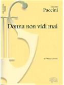 Giacomo Puccini: Donna non vidi mai, da Manon Lescaut (Tenore)