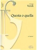 Giuseppe Verdi: Questa o quella, da Rigoletto (Tenore)