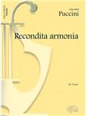 Giacomo Puccini: Recondita Armonia, da Tosca (Tenore)