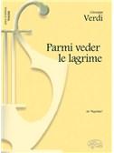 Giuseppe Verdi: Parmi veder le lagrime, da Rigoletto (Tenore)