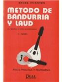 M�todo de Bandurria y La�d por M�sica y Cifra Acompasada, 1er Nivel: Parte Pr�ctica y Recreativa. Guitar Book