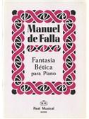 Manuel De Falla: Fantas�a B�tica para Piano. Sheet Music