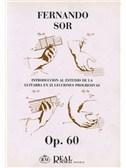 Fernando Sor: Introducci�n al Estudio de la Guitarra en 25 Lecciones Progresivas, Op.60. Book