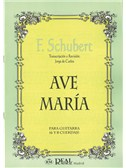 Franz Schubert: Ave Mar�a para Guitarra (6 y 8 Cuerdas). Sheet Music