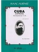 Isaac Alb�niz: Cuba (Capricho), Suite Espa�ola Op.47 No.8 para Guitarra. Sheet Music