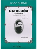 Isaac Alb�niz: Catalu�a (Corranda), Suite Espa�ola Op.47 No.2. Guitar Sheet Music