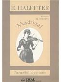 Ernesto Halffter: Madrigal, para Violín y Piano