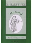 Ernesto Halffter: Madrigal para Viola y Piano