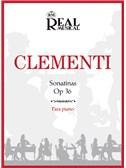 Muzio Clementi: Sonatinas Op.36 para Piano