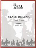 Claude Debussy: Claro de Luna (Piano fácil)