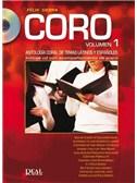 Coro, Volumen 1. Choral Sheet Music, CD