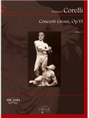 Arcangelo Corelli: Concerti Grossi, Op.VI, Volume 1. Chamber Group Sheet Music, CD-Rom