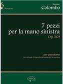 Massimo Colombo: 7 pezzi per la mano sinistra, Op.269