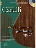 Ferdinando Carulli: Metodo Completo per Chitarra, Op.27. Guitar Book, CD
