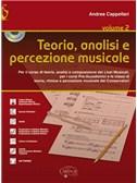 Andrea Cappellari: Teoria, Analisi E Percezione Musicale (Book/CD)