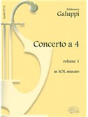 Baldassarre Galuppi: Concerto a 4 - Volume 1, in Sol Minore
