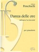 Amilcare Ponchielli: Danza delle Ore dall'opera La Gioconda, per Pianoforte