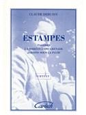 Claude Debussy: Estampes, for Piano
