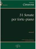 Domenico Cimarosa: 31 Sonate per Forte-Piano, Volume 2