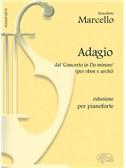 Benedetto Marcello: Adagio, dal Concerto in Do Minore (per Oboe e Archi). Riduzione per Pianoforte
