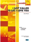 Stevie Wonder: I Just Called To Say I Love You (Score And Parts)