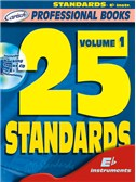 25 Standards, Volume 1 (Eb Instr.). E Flat Instruments Sheet Music, CD