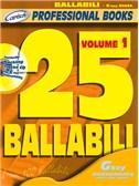 25 Ballabili, Volume 1 (Gkey Instr.). C Instruments Sheet Music, CD