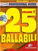 25 Ballabili, Volume 1 (Eb Instr.). E Flat Instruments Sheet Music, CD